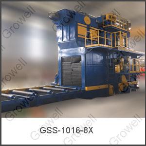 Máy phun bi kết cấu thép của Growell