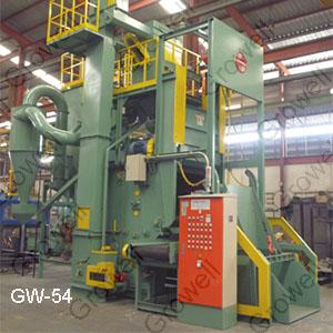 Máy phun bi thùng đảo GW54