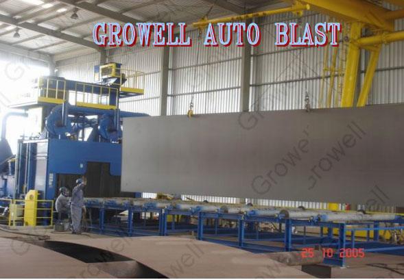 Máy phun bi tôn tấm Growell - GSS 3000