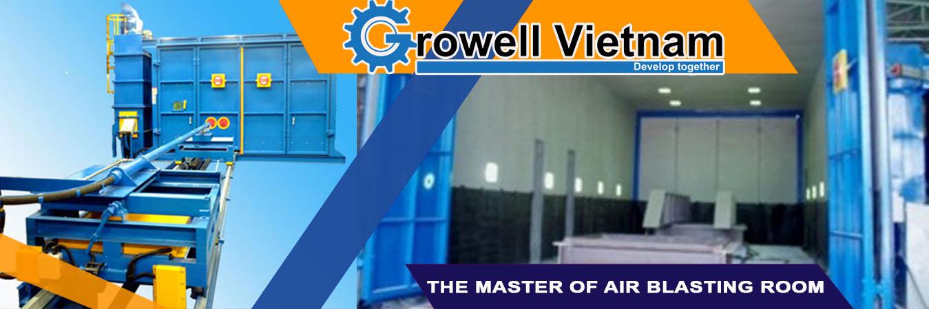 Nhà phun bi Growell