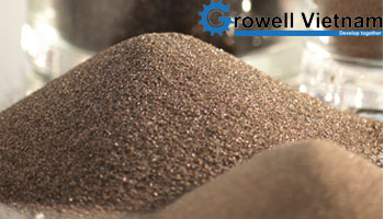 Hạt oxit nhôm làm sạch bề mặt kim loại