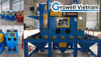 Máy bắn cát công nghiệp chất lượng cao