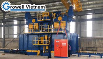 Dự án máy phun bi kết cấu thép tai Công ty TNHH MTV Cơ khí Xây dựng Hà Nam Tiến