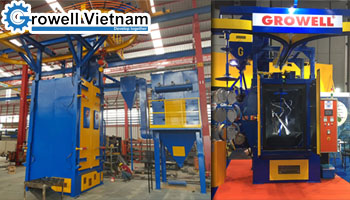 Learn more about hanger type shot blasting machine