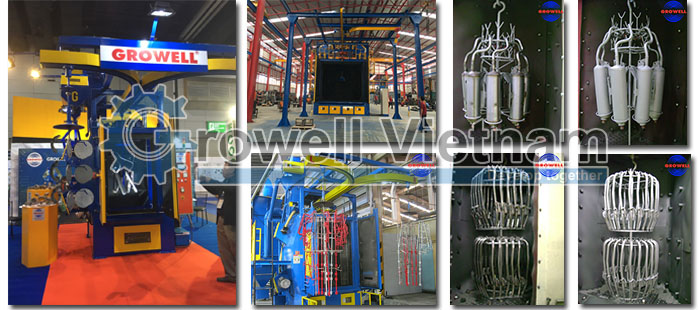 Shot Blasting Machine - Hanger Machine