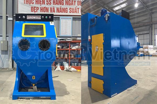 Lắp đặt máy phun cát tại Vĩnh Phúc Model IRON MAN 600S