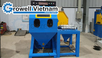 Dự án Tủ phun cát bàn xoay Growell tại Sóc Sơn - Hà Nội