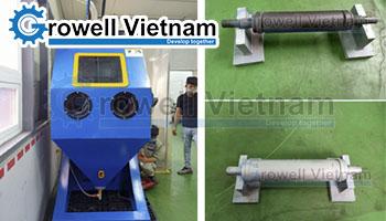 Máy phun cát bi - Xử lý bề mặt công nghệ Thái Lan