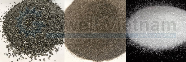 Phun bi - Hạt mài phun cát - Cát kỹ thuật