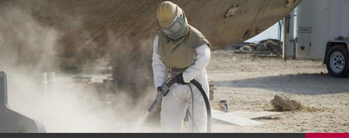 Biện pháp phòng ngừa trong phun cát làm sạch