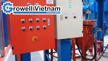 Các loại Máy phun cát khí nén - Growell Việt Nam