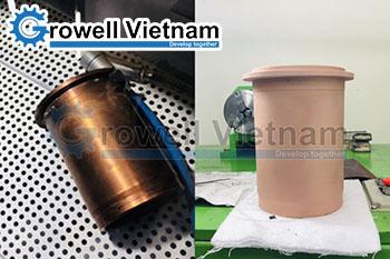 Dịch vụ bắn cát Growell làm sạch bề mặt giá rẻ tại Hà Nội
