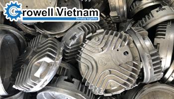 Máy phun bi làm sạch khuôn đúc GW-18V - Growell Việt Nam