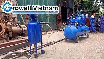 Ưu nhược điểm của Máy phun cát khô mini - Growell Việt Nam