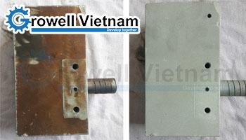 Phun cát tẩy rỉ - Dịch vụ phun cát tẩy rỉ Growell Việt Nam