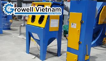 Giá máy phun cát công nghiệp - Growell Việt Nam