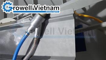 Tủ phun cát mini tuần hoàn không bụi - Growell Việt Nam