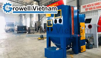 Dự án Máy phun cát tạo mờ inox gương tại Hà Nội
