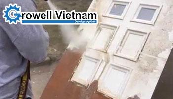 Phun cát trên gỗ sao cho đúng cách? - Growell Việt Nam