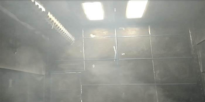 Phòng phun bi làm sạch bề mặt kim loại